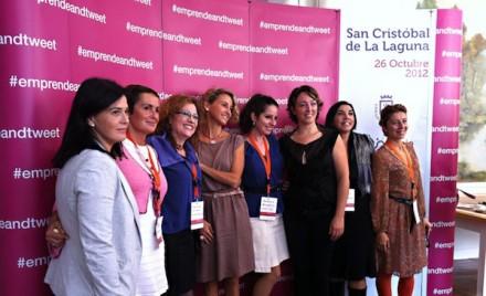 Foto de Isabel, Maria, Montse, Carla, Andra Cora, Argentina, Elena y Virginia