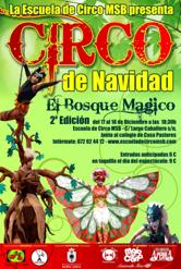 Cartel del Circo de Navidad