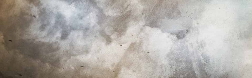 Foto de una especie de nubes sobre una pared