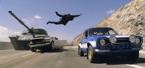 Escena de Fast and Furious 6