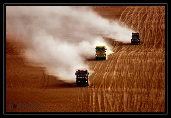 Bandas de rodadura Dakar 2013