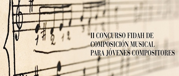 Concurso compositores FIDAH