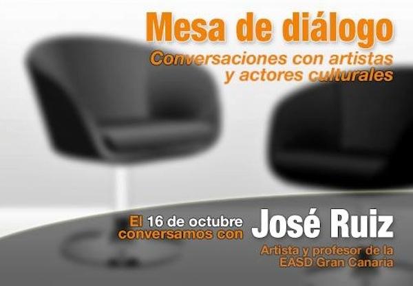 Mesa diálogo José Ruiz