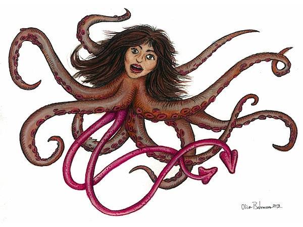 Calamar gigante_Oliver Behrmann