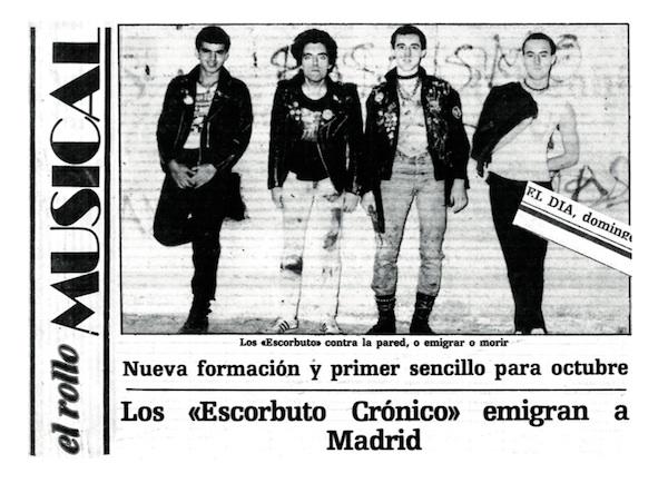 El rollo musical_Escorbuto crónico en Madrid