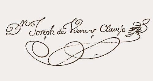 Firma de Viera y Clavijo