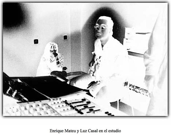 Enrique Mateu y Luz Casal