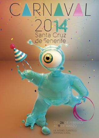 Cartel Carnaval S:C Tenerife 2014