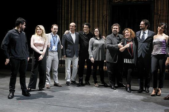 El elenco de Don Giovanni