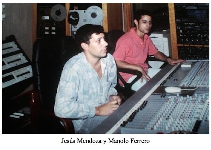 Jesús Mendoza y Manolo Ferrero