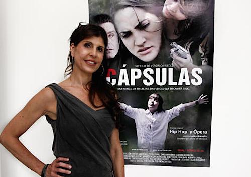 La directora de cine Verónica Riedel_Cartel Cápsulas