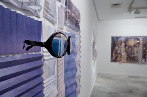 Obras de la muestra '5º aniversario TOK' en el CAAM-SAA