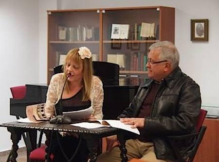 Rosario Valcárcel y Juan Calero