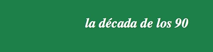 Los 90_portada verde