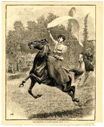 Sortijas o cintas a caballo