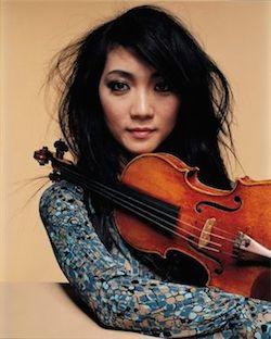 La violinista japonesa Akiko Suwanai