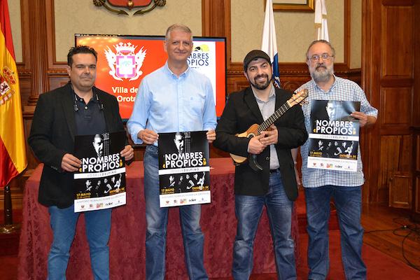 Espectáculo audiovisual del timplista Josele del Pino