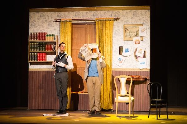 Sherlock Holmes, en el teatro Guiniguada