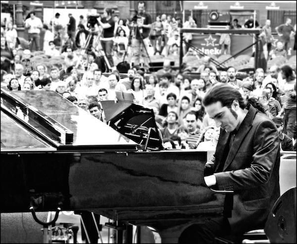 David Quevedo y Carlos Meneses en 'Jazz en San Martín'