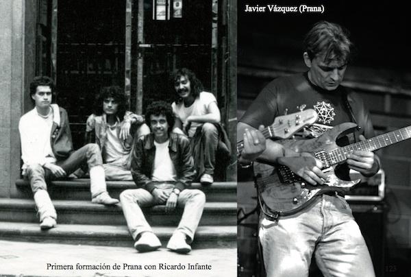 Prana con Ricardo Infante y Javier Vazquez