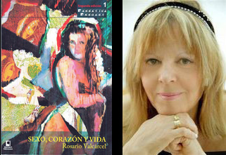 Rosario Vallcarcel y libro