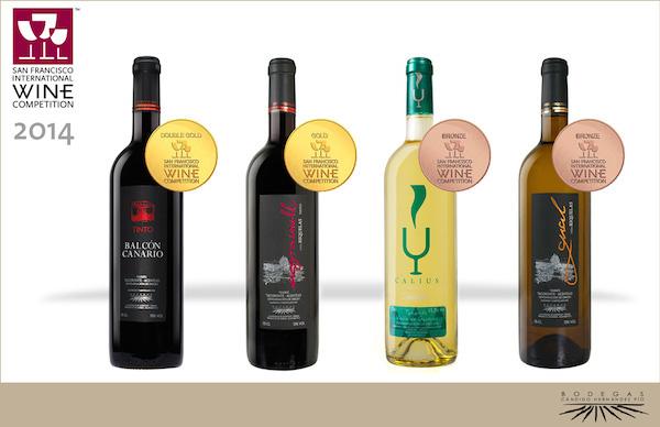 Vinos ganadores en el 34 concurso internacional de vinos en San Francisco