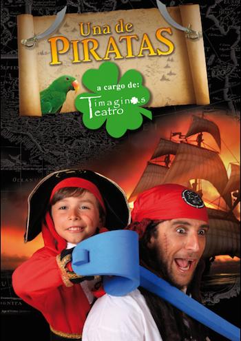 Los piratas de Timaginas se instalan en el madrileño Teatro Arlequín