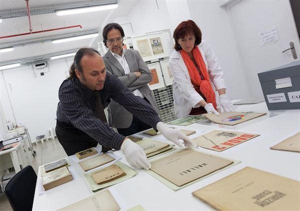 TEA prepara una muestra dedicada a Vicente Huidobro
