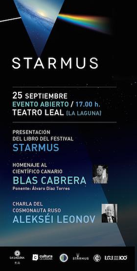 Cartel Starmus Teatro Leal