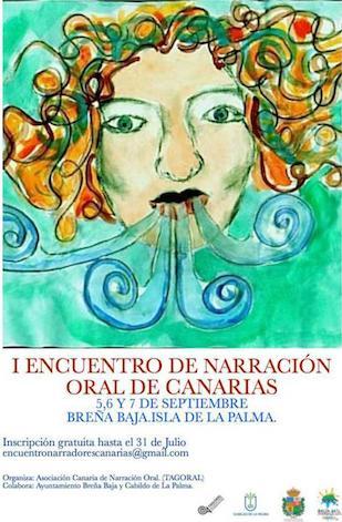 Breña Baja sede del I Encuentro de Narración Oral de Canarias