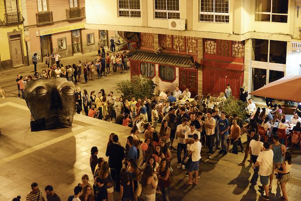 Cola de una de las sesiones de Tenerife Shorts del pasado sábado