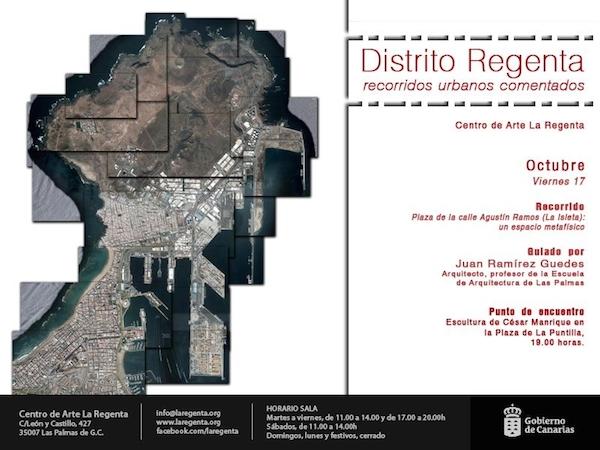 Distrito Regenta invita a participar en recorridos urbanos por Las Palmas