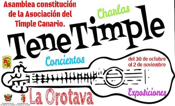La Orotava acoge el congreso TeneTimple