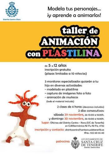 El Distrito Centro-Ifara programa cuatro talleres de animación durante la Navidad