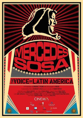 Filmoteca proyecta esta semana el documental sobre Mercedes Sosa