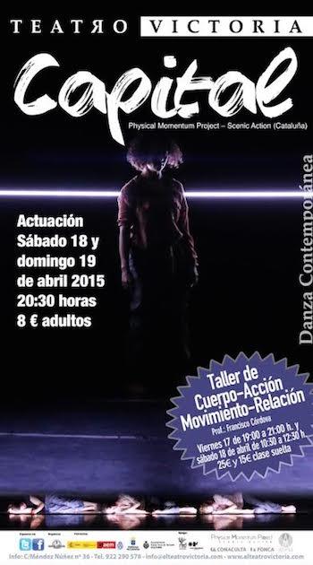 La Compañía catalana Physical Momentum Project Scenic visita el Teatro Victoria
