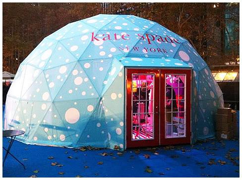 Kate Spade en Bryant Park