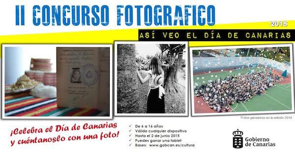 Segunda edición del concurso fotográfico 'Así veo el Día de Canarias'