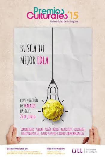 Plazo de presentación a los premios culturales de la Universidad de La Laguna