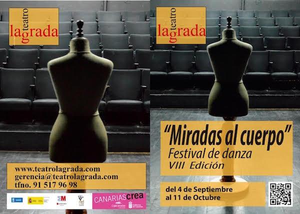 La compañía canaria Nómada participa en el Festival de Danza 'Miradas al cuerpo', en Madrid