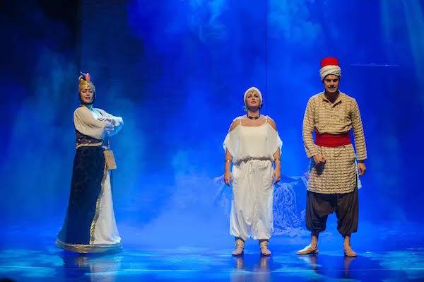 'Aladino y el enredo de los genios' en el Teatro Guiniguada