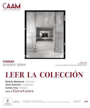 Ramón Betancor, Irene Ramírez y Carlos Teja protagonizan la nueva edición del ciclo 'Leer la Colección'
