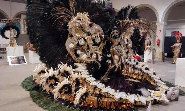 Exposicion Reinas Carnaval Tenerife