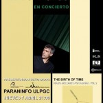 Alexis Alonso presenta 'The Birth of Time' en el Paraninfo de la Ulpgc
