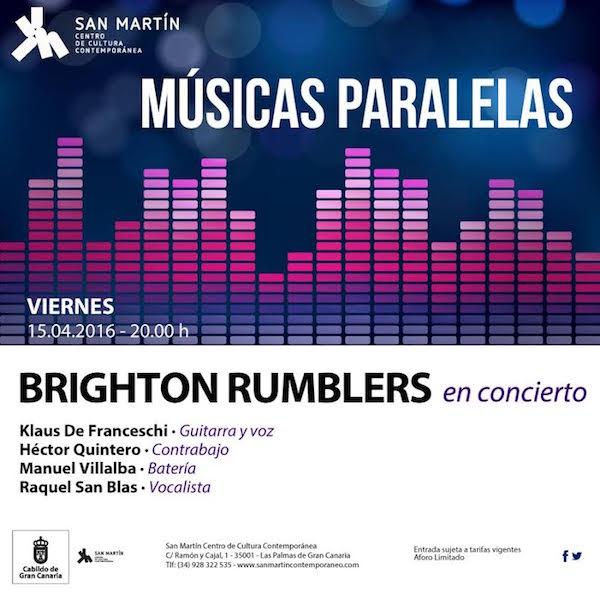 Brighton Rumblers lleva su 'rockabilly' al 'Músicas Paralelas'