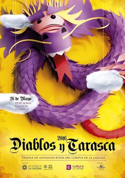Diablos y Tarasca 2016 Cartel
