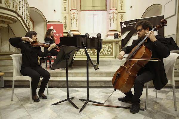 Dos grupos de la Academia de la OFGC ofrecen un concierto de música de cámara en San Martín