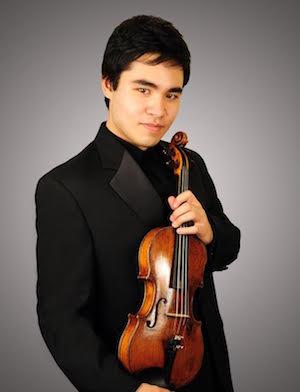Gran concierto sinfónico con el violinista Eric Silberger como solista