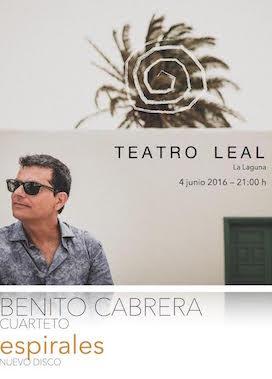 El timplista Benito Cabrera presenta en el Teatro Leal su nuevo trabajo discográfico 'Espirales'
