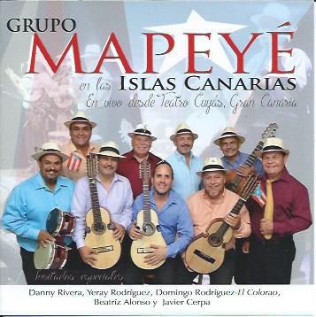 Mapeyé presenta su nuevo disco, grabado durante su actuación de 2014 en el Teatro Cuyás